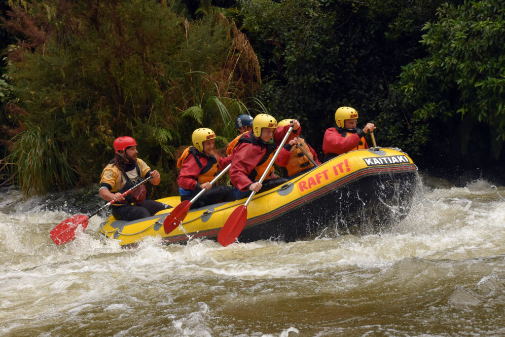 Rangitaiki River rafting