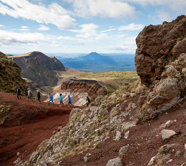 Guided Tours on Mt Tarawera