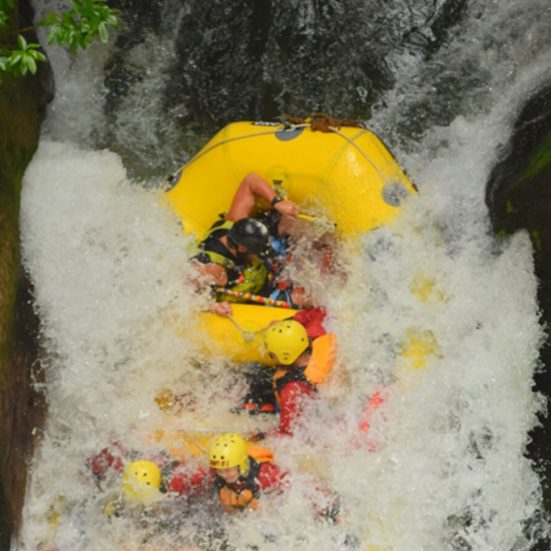 What To Expect When Rafting In Rotorua waterfall